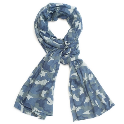 OLD MILL EAST HARBOR X MANNERGRAMLONG SCARF CAMO