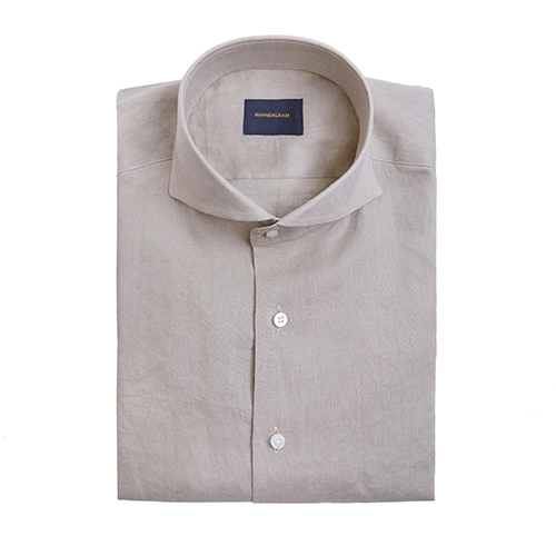 LINEN SHIRTS BROWN